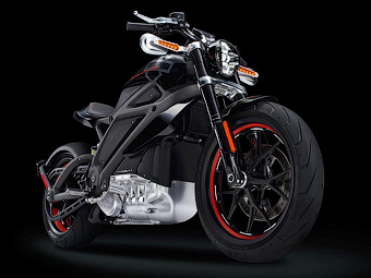 Harley Davidson построил электрический мотоцикл