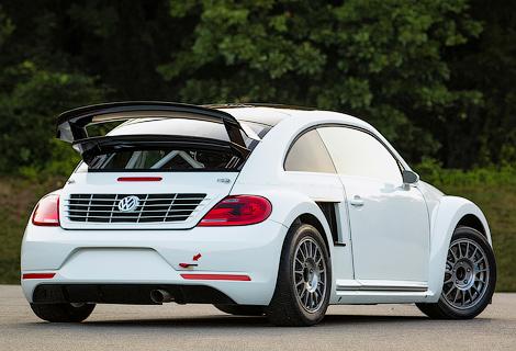 Гоночный Volkswagen Beetle наберет «сотню» за 2,1 секунды