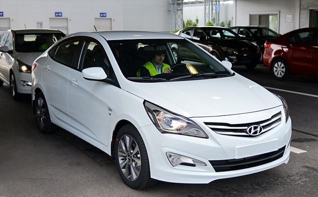 Мини-тест обновленного Hyundai Solaris российской сборки. Фото 1