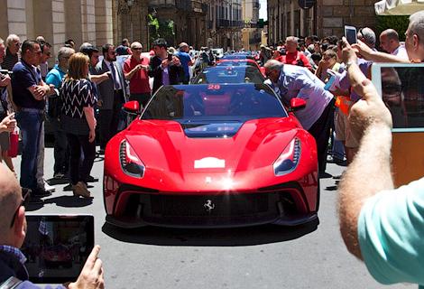 На Сицилии дебютировала новая модель Ferrari, созданная в единственном экземпляре