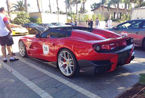 На Сицилии дебютировала новая модель Ferrari, созданная в единственном экземпляре. Фото 1