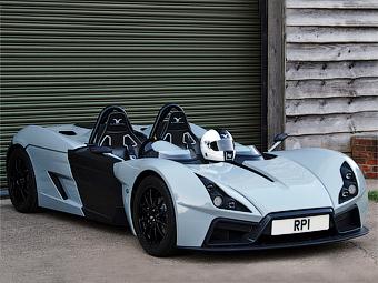 Британцы представили самый легкий спорткар в мире