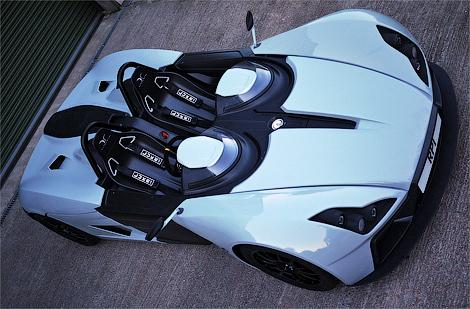 Фирма Elemental рассекретила трековый спорткар для обычных дорог. Фото 1