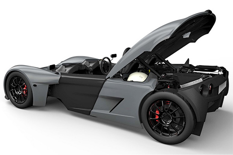 Фирма Elemental рассекретила трековый спорткар для обычных дорог. Фото 2