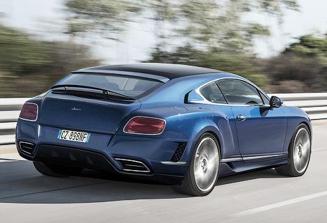 Одним из проектов новой фирмы станет превращение купе Bentley в универсал