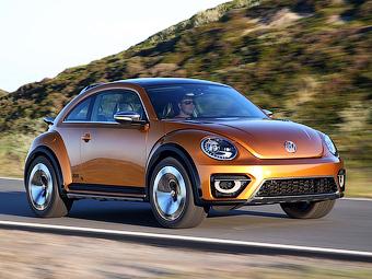 Volkswagen намекнул на серийный «вседорожный» Beetle