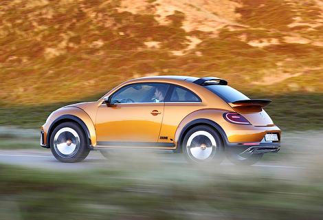 Компания опубликовала новые фотографии хэтчбека Beetle Dune. Фото 2