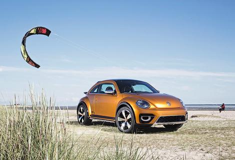 Компания опубликовала новые фотографии хэтчбека Beetle Dune. Фото 3