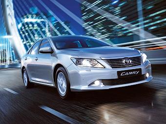 Кузова Toyota Camry будут делать в Петербурге