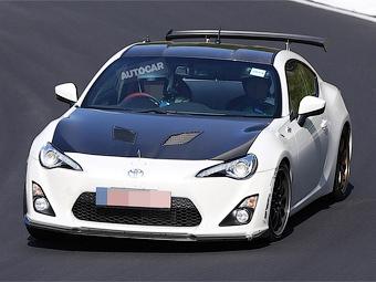 «Тойота» начала тесты «карбонового» купе GT86
