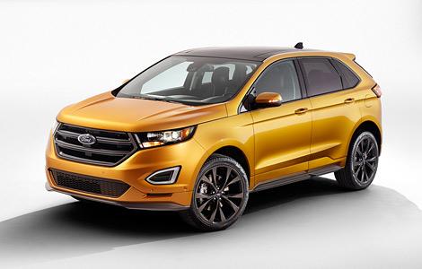 Новый Ford Edge оснастили камерой с омывателем и надувными ремнями безопасности