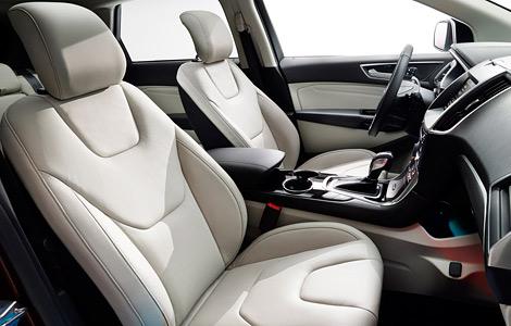 Новый Ford Edge оснастили камерой с омывателем и надувными ремнями безопасности. Фото 2