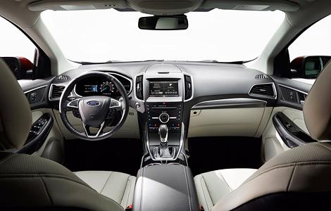 Новый Ford Edge оснастили камерой с омывателем и надувными ремнями безопасности. Фото 3