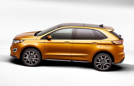 Новый Ford Edge оснастили камерой с омывателем и надувными ремнями безопасности. Фото 4