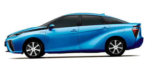 Продажи Toyota FCV стартуют весной 2015 года