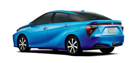 Продажи Toyota FCV стартуют весной 2015 года. Фото 1