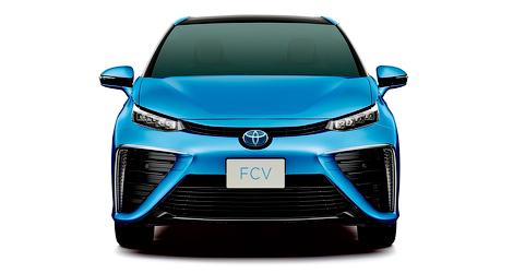 Продажи Toyota FCV стартуют весной 2015 года. Фото 2