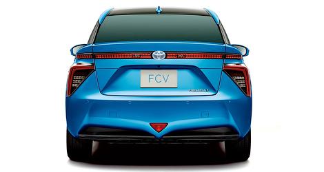 Продажи Toyota FCV стартуют весной 2015 года. Фото 3