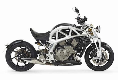 Британская компания будет выпускать мотоциклы с мотором Honda