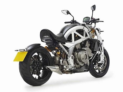Британская компания будет выпускать мотоциклы с мотором Honda. Фото 4