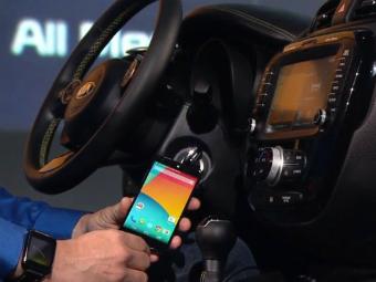 Google представил Android для автомобилей