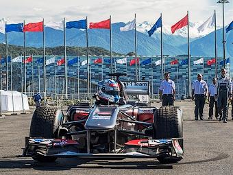 На Гран-при России добавят новую трибуну