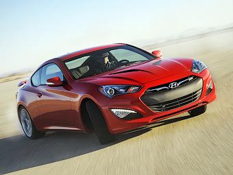 Купе Hyundai Genesis исчезло с российского рынка