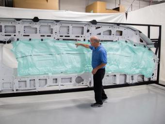 «Форд» разработал самую большую в мире подушку безопасности