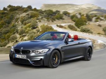 Кабриолет BMW M4 оценили на 410 тысяч рублей дороже купе
