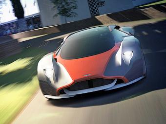 Aston Martin показал на виртуальном суперкаре черты будущих моделей