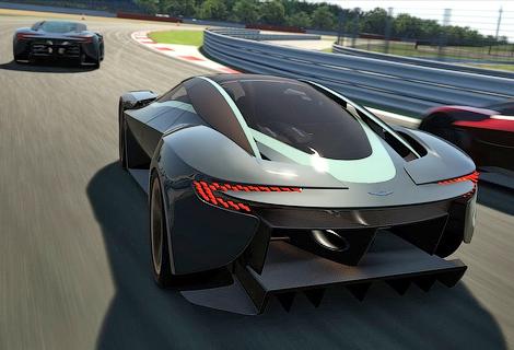 Британская компания разработала 800-сильное купе для игры Gran Turismo