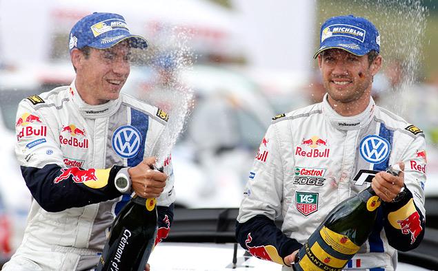 Пилоты Volkswagen вышли на три лидирующих места в личном зачете WRC. Фото 2