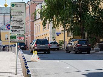 За Садовым кольцом платные парковки разместят на 155 улицах