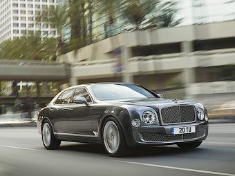 Флагманский Bentley получит «заряженную» версию