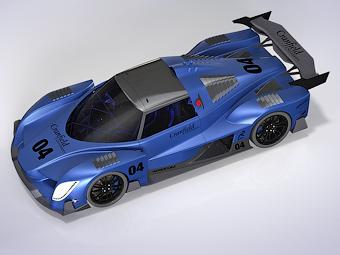 Radical подготовил проект 669-сильного спорткара на водороде