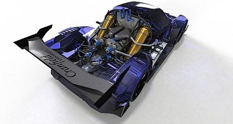 """Водородное купе разработали на базе трековой модели с """"шестеркой"""" Ford"""