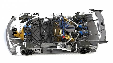 """Водородное купе разработали на базе трековой модели с """"шестеркой"""" Ford. Фото 1"""