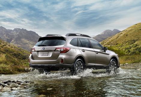 В использовании машин на бездорожье призналась треть владельцев Subaru