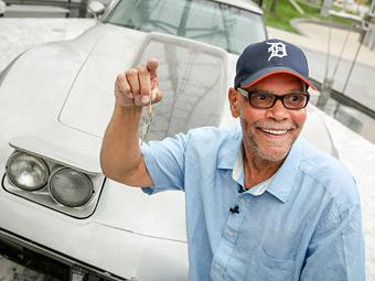 Угнанный Chevrolet Corvette вернули владельцу спустя 33 года