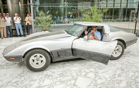 General Motors передала машину детройтскому пенсионеру. Фото 1