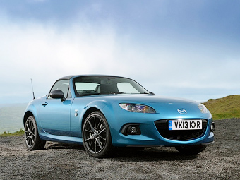 Mazda назвала дату премьеры следующего родстера MX-5