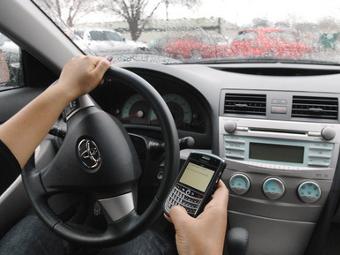 Московским водителям разрешили отправлять SMS соседям по дороге