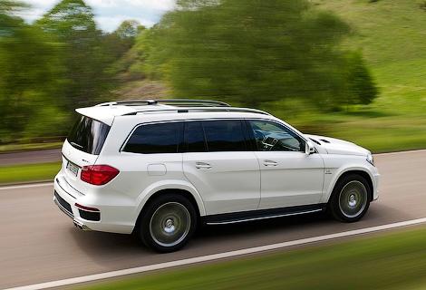 Mercedes-Benz выпустит роскошную версию GL-Class