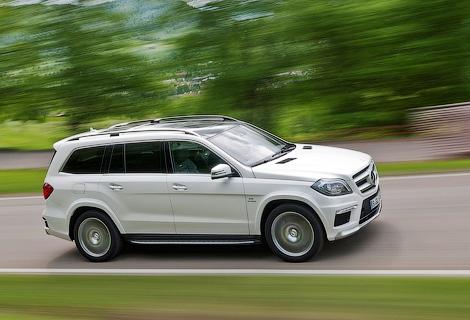 Mercedes-Benz выпустит роскошную версию GL-Class. Фото 1