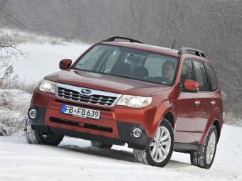 Соль на дорогах привела к отзыву 660 тысяч машин Subaru