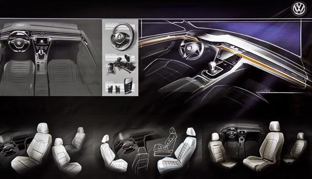 Каким получился VW Passat, над дизайном которого поработал итальянец. Фото 2