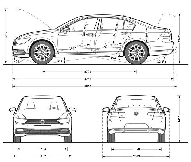 Каким получился VW Passat, над дизайном которого поработал итальянец. Фото 7
