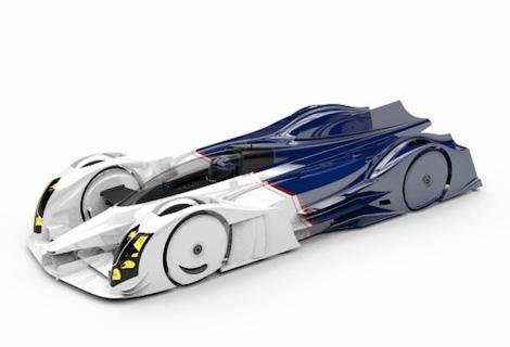 В Нидерландах разрботают спортпрототип с роторным двигателем