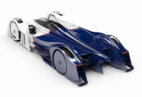 В Нидерландах разрботают спортпрототип с роторным двигателем. Фото 1
