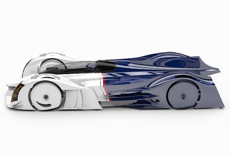 В Нидерландах разрботают спортпрототип с роторным двигателем. Фото 3